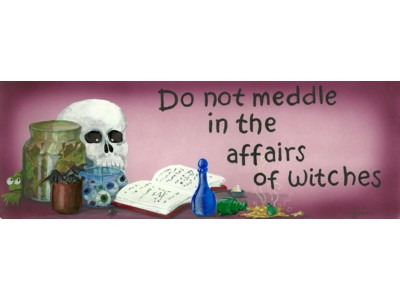 Do Not Meddle in the Affairs of Witches Mug (Redwitch)